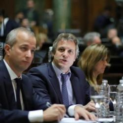 Legislatura. Felipe Miguel se centró en los nuevos Códigos