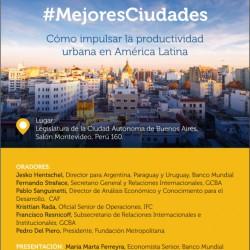 Mejores Ciudades. Cómo impulsar la productividad urbana en América Latina.