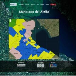 Los 40 Municipios de la PBA y la CABA Georreferenciados