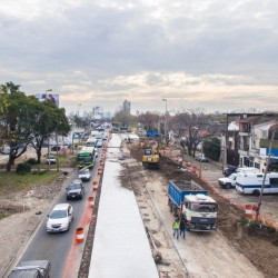Definieron las 11 estaciones que tendrá el Metrobus Calchaquí