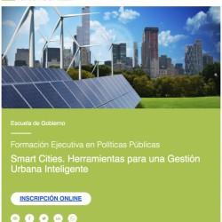 Smart Cities. Herramientas para una Gestión Urbana Inteligente