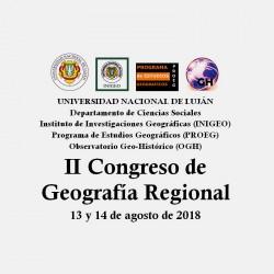 II Congreso de Geografía Regional