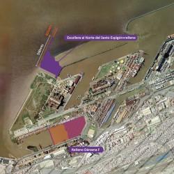 Usan la tierra que sacan del Paseo del Bajo para ampliar el puerto de Buenos Aires