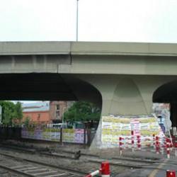 Por la construcción del viaducto, la avenida Juan B. Justo estará cerrada por seis meses