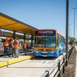 Inauguraron el Metrobus del Oeste, el cuarto del conurbano bonaerense