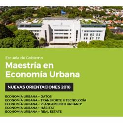 Maestría en ECONOMÍA URBANA l Reunión Informativa