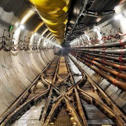Avanza la obra del túnel a 40 metros bajo el Río de la Plata