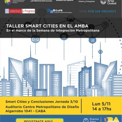 Taller Smart Cities en el AMBA en el marco de la Semana de Integración Metropolitana