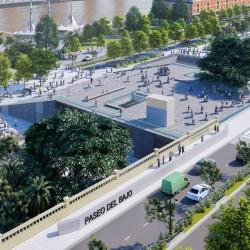 Viaje al futuro: así va a ser el Parque Lineal del Bajo