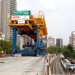 Video: avanzan las obras para elevar las vías del ferrocarril Mitre