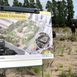 El antes y el después de la Plaza Clemente: así será el espacio verde por el que lucharon los vecinos
