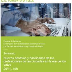 UTDT | Seminario de la Maestría en Economía Urbana