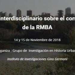 Encuentro Interdisciplinario sobre el corredor norte de la Región Metropolitana de Buenos Aires