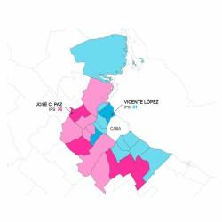 Conurbano: la desigualdad no distingue entre municipios ricos y pobres