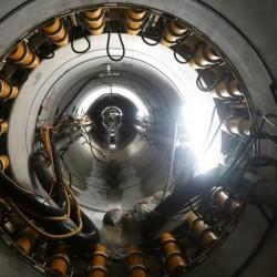 Cómo funciona la máquina que hace un túnel junto al arroyo Vega para evitar inundaciones