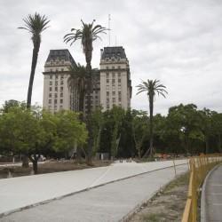 Parque del Bajo: un paseo para peatones donde antes había estacionamientos
