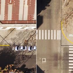 Limitan la demarcación amarilla de las ochavas para ganar 22.000 espacios para estacionar