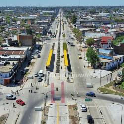 Del pasado al futuro: el video que muestra la renovación urbana que deja a su paso el Metrobus de la Ruta 8