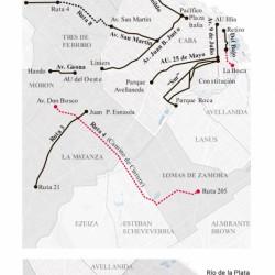 Metrobus: completarán los ramales en obra y el del Bajo recién se terminará en 2020