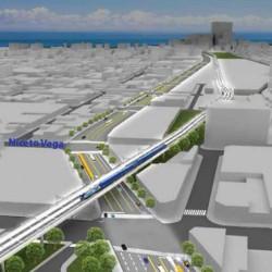 Vuelven a abrir la calle Honduras por la obra del viaducto del tren San Martín