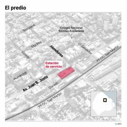Clausuran la estación de servicio de Juan B. Justo y Honduras para urbanizar el playón de Palermo