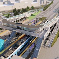Tres de Febrero: construirán un centro orientado al transporte en la estación de trenes Sáenz Peña y su entorno