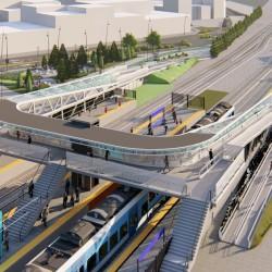 Cómo serán los centros de trasbordo que construirán junto a 22 estaciones de tren