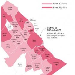 El ABL en el Conurbano llega con aumentos de un 35% en promedio