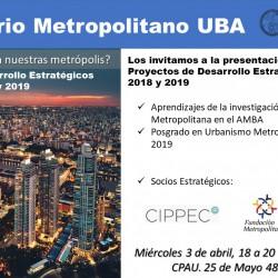 Proyectos de Desarrollo Estratégico 2018 - 2019 | Laboratorio Metropolitano UBA Recibidos x