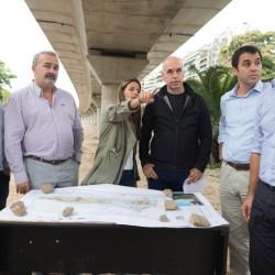 Viaducto Mitre: la Ciudad presentó un proyecto para sumar una plaza junto al túnel de Av. Libertador