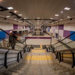 Así están hoy las nuevas estaciones de la línea E que se inaugurarán a fines de mayo
