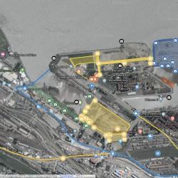 Puerto Buenos Aires lanzó un mapa dinámico donde se pueden conocer las obras de la jurisdicción portuaria