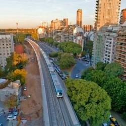 Se inaugura mañana el viaducto del tren Mitre, el primero de los tres en obra