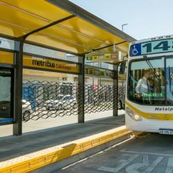 Empezaron a probar el Metrobus de Quilmes y lo inauguran a fin de mes