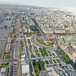 Cómo es el Parque del Bajo, el nuevo corredor verde que inauguró el gobierno porteño