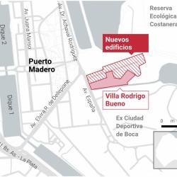 Villa Rodrigo Bueno: comenzó la mudanza de los vecinos a las nuevas viviendas