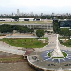 Video: así es el nuevo paseo en la Costanera Norte, con el Monumento a Colón