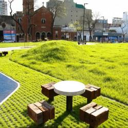 Once: inauguraron el Parque de la Estación, con una biblioteca y un polideportivo