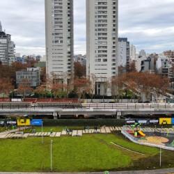 La Ciudad inauguró la primera parte del Parque Ferroviario de Palermo
