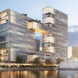 Construirán el edificio más grande del país en el Paseo del Bajo