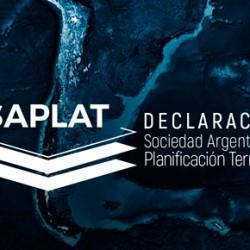SAPLAT - DECLARACIÓN EN RELACIÓN A LICITACIONES DE PLANES URBANOS