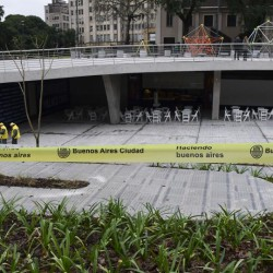 La re renovación de la Plaza Houssay