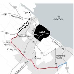 Del Acceso Oeste a la ruta 2 en menos tiempo: cómo es la autopista que conectará 12 municipios y los accesos a la Ciudad
