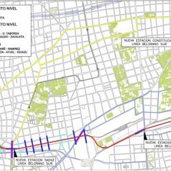 Vuelven a licitar el tramo Sáenz-Constitución del viaducto del Belgrano Sur