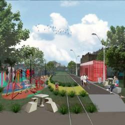 Confirman la clausura definitiva del ramal Alsina-Bonzi para construir un parque