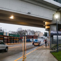 La nueva y definitiva cara del cruce delas avenidas Córdoba y Juan B. Justo