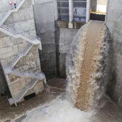 Prueban el segundo túnel del arroyo Vega, que aliviará inundaciones en Belgrano