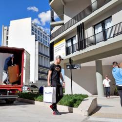 Villa Olímpica: los primeros vecinos se adaptan al nuevo barrio