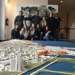 Integrar la costa porteña, el sueño de un grupo de futuros arquitectos