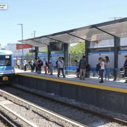 San Fernando - Quedó renovada la estación Carupá del tren Mitre: la usan unas 4 mil personas por día